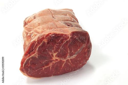 pezzo di carne di manzo per il brodo detto cappello di prete Fototapeta