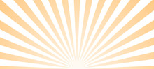 Sun Ray Retro Background Vecto...