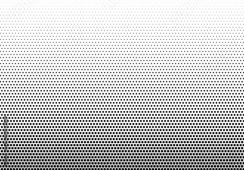Abstract halftone dotted background Canvas Print