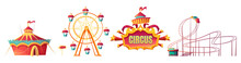 Amusement Park, Carnival Or Fe...
