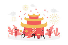 Concept Of Chinese New Year Fe...