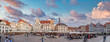 Leinwanddruck Bild - beautiful  photos of Tallinn