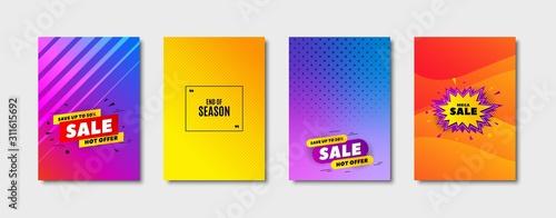 End of Season Sale Canvas