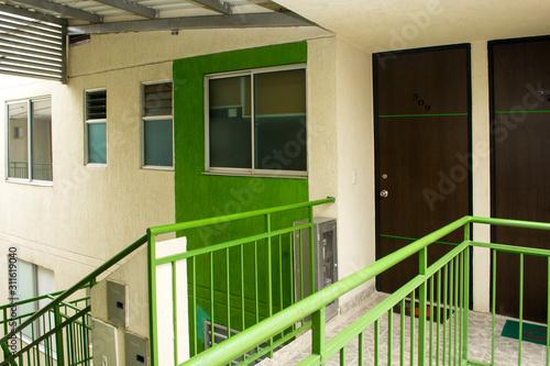 Apartamento Verde Wallpaper Mural