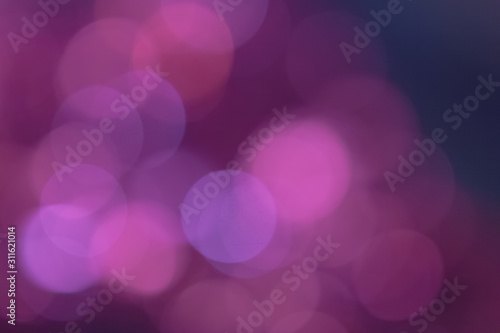 purple abstract bokeh background - 311621014