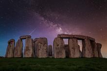 Stonehenge And At Night Under ...
