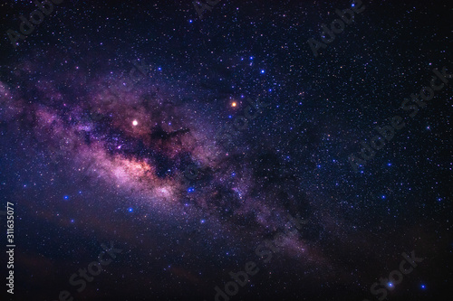 Photo Beauty of the Milky way galaxy