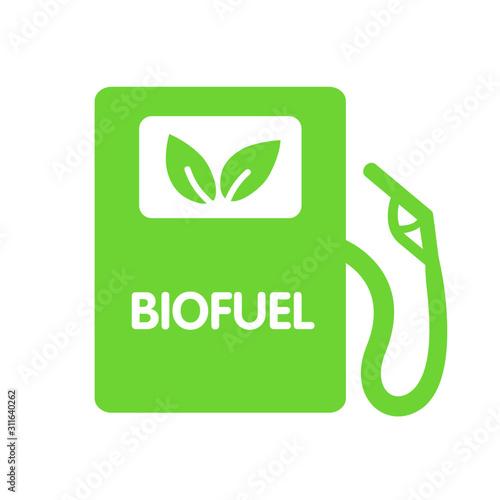 Biofuel Gas Station Canvas Print