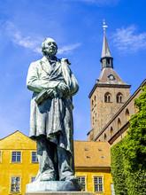 Hans Christian Andersen Denkmal, Dänemark, Fünen, Odense