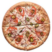 Hot Fresh Baked Italian Pizza ...