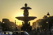 Paris, Place De La Concorde, S...