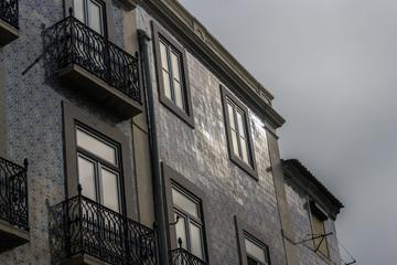 Cityscape of the Neighbourhood of Alfama (Lisbon, Portugal)