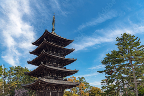 Photo 奈良 興福寺 五重塔