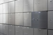 Metal Safe Box Panel Wall With...