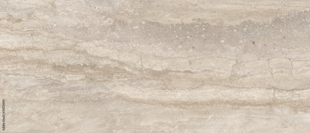 Fototapeta Naturel travertine stone background