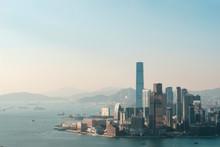 Skyline Of Hong Kong, Aerial Of Kowloon City