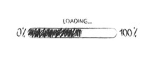 Pencil Sketch Of The Loading I...