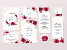 Wedding Invitation Card Templa...