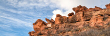 Sandstone Cliff  In Lory State Park,