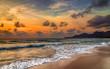 Sunset on Florida Beach island sunset