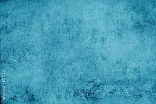 Hintergrund abstrakt in blau und türkis Wallpaper Mural