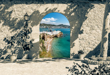 Access Portal To Ibiza, Spain