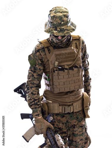 Fotomural  soldier