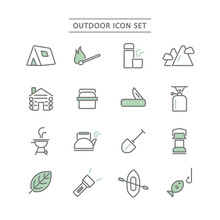 OUTDOOR ICON SET