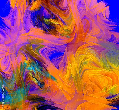 Fototapeta Hintergrund für Destop, Smartphone oder einfach als Bild an die Wand obraz na płótnie