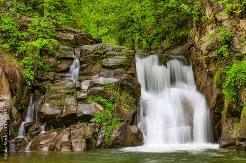 Pieniny-wodospad Zaskalnik