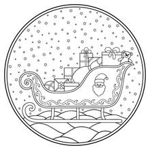 Circular Christmas Decoration ...