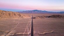 Panoramic Drone View Of A Stra...