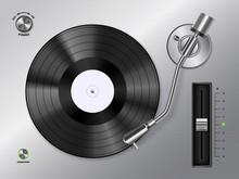Vinyl Realistic Top View