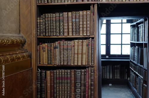 Fotografie, Tablou  本 魔法使い 部屋 クラシック 図書館