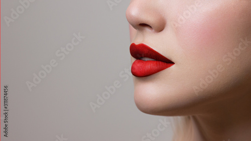 Sexy Lips Canvas-taulu
