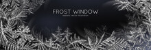 Frost Window Horizontal Poster
