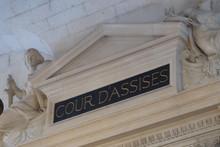 Cour D'Assises Au Palais De Justice De Paris (France)