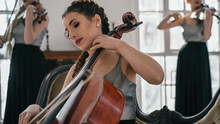 The String Quartet Performs In...