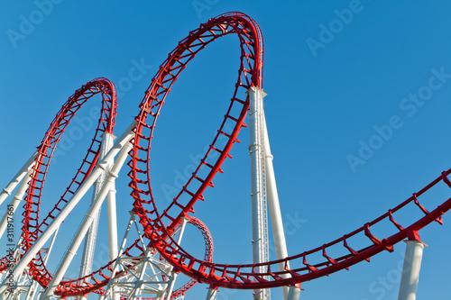 Tablou Canvas Roller Coaster