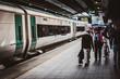 Tren a Galway