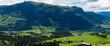 Aurach panoramic in Austria