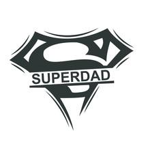 Superman Style Superdad Logo M...