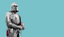 Knight In Shiny Metal Armor. R...