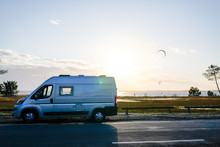 Campervan By The Sea In Summer...