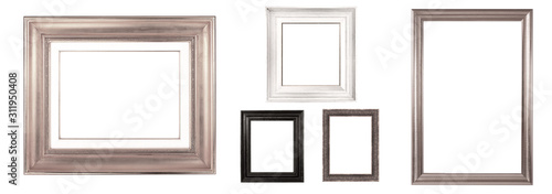 Obraz antique isolated picture frame - fototapety do salonu