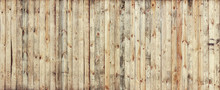 Texture Of Yellow Wooden Boards For Background
