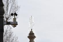 Fountain Of A Park In Granada ...