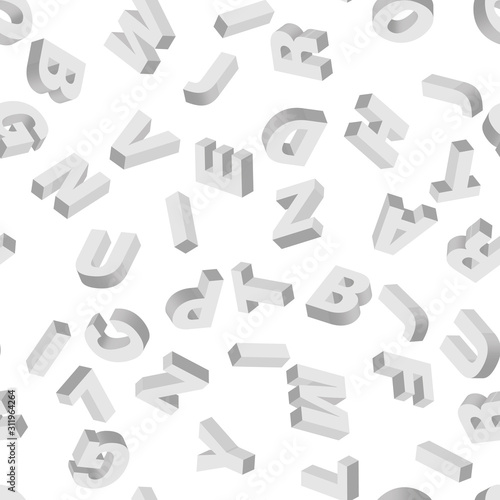mosaic-of-white-3d-letters-vector-seamless-pattern
