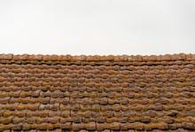 Old, Vintage Roof Tiles Under ...