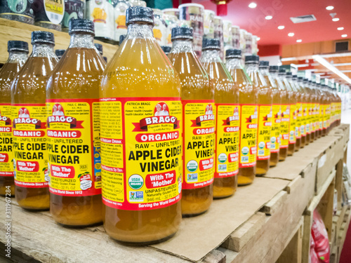 Bragg Organic Apple Cider Vinegar Is Now The Market Leader In The Premium Acv Market Segment In Malaysia With Wide Distribution Buy This Stock Photo And Explore Similar Images At Adobe